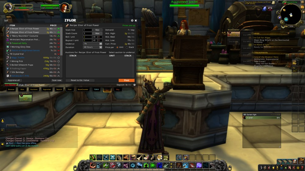 The Best Add-ons For Making Gold In World of Warcraft